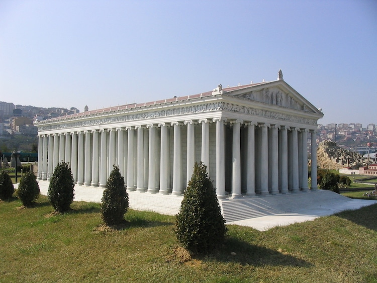 Temple of Artemis Reconstruction