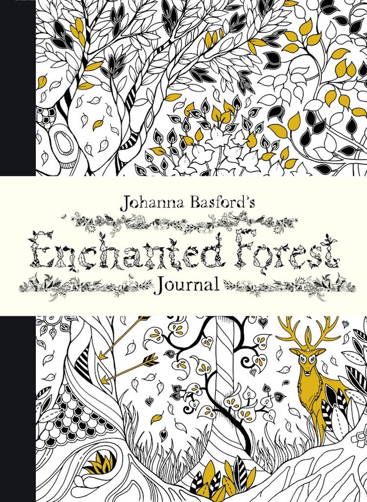 Johanna Basfords Enchanted Forest Journal Adult Coloring Books