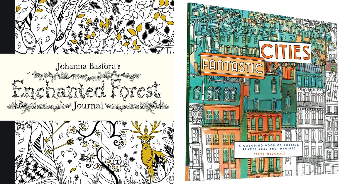 20 Adult Coloring Books That Can Help You Combat Stress