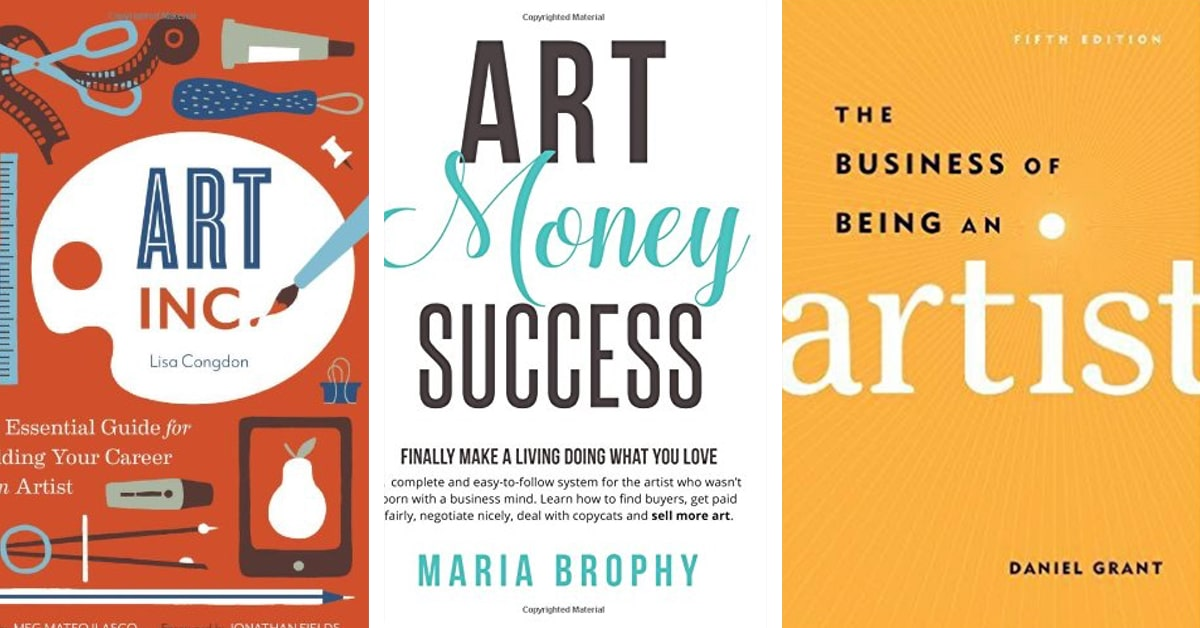 20 books to artists to sharpen your creative career skills
