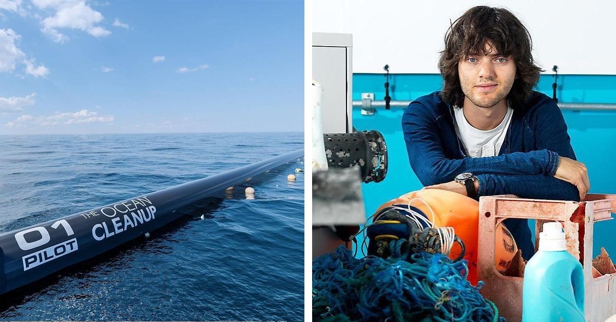 Wowww, Pelampung Raksasa Yang Berhasil Mengangkut Sampah Plastik Di Samudera Pasifik