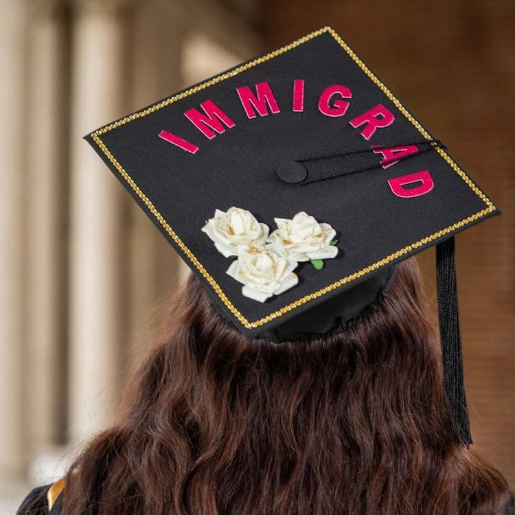 IMMIGRAD Graduation Caps