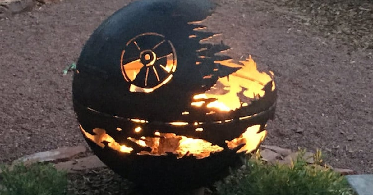 Death Star Fire Pit Is The Perfect Outdoor Fire Pit For