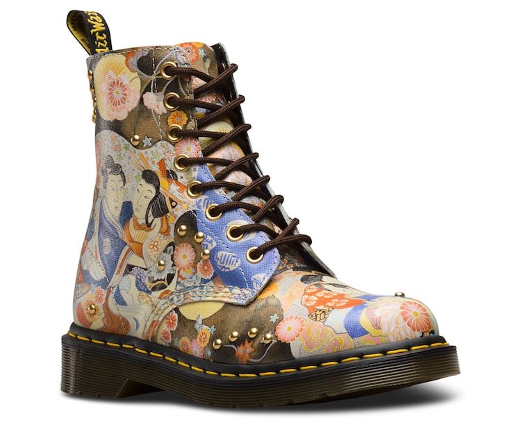 fdc2c9dec0cf0 Doc Martens Releases  Eastern Art  Collection Inspired by Japanese Paintings