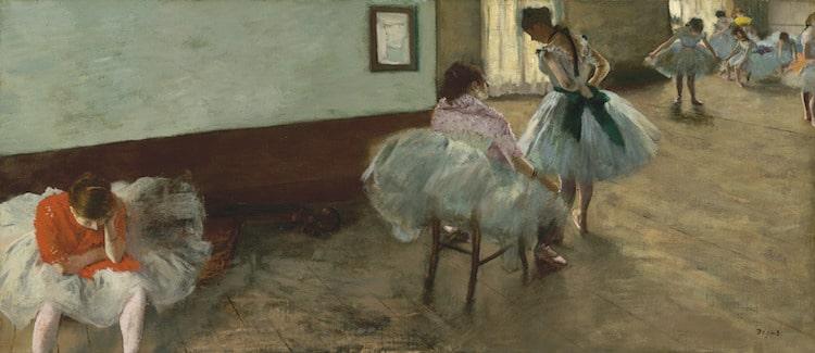 Edgar Degas Dancers Ballerina Painting Ballerina Sculpture
