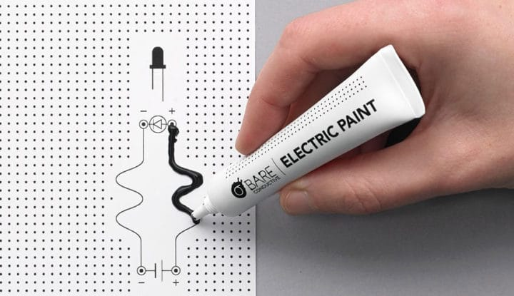 Electric Paint by Bare Conductive