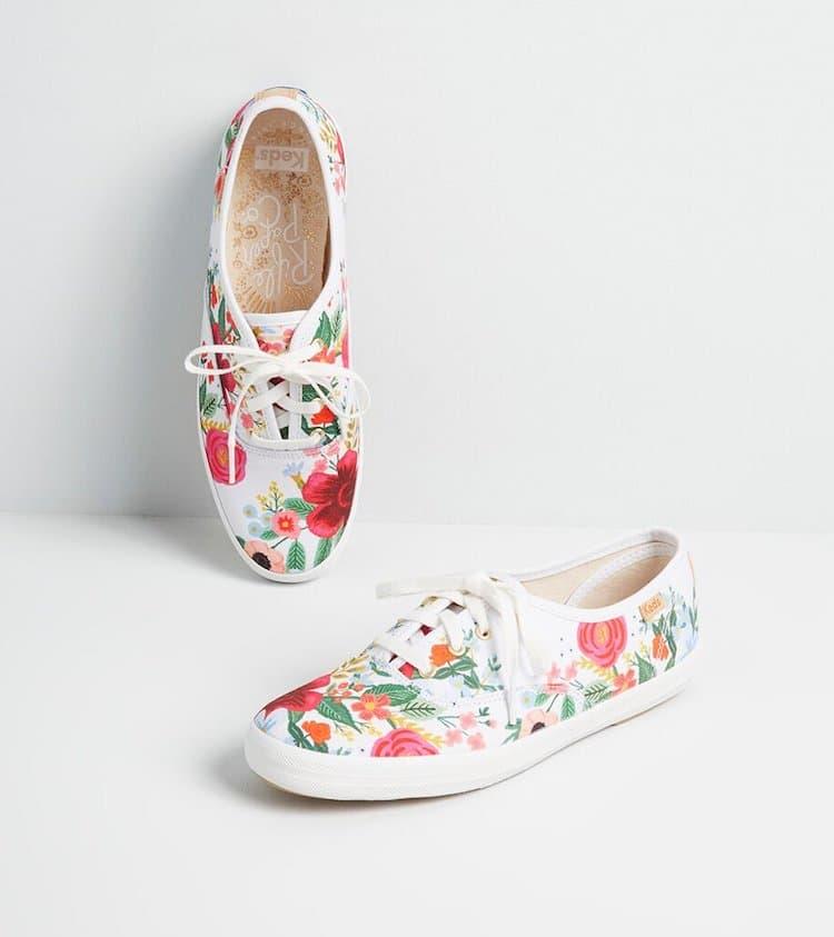Floral Ked Sneakers