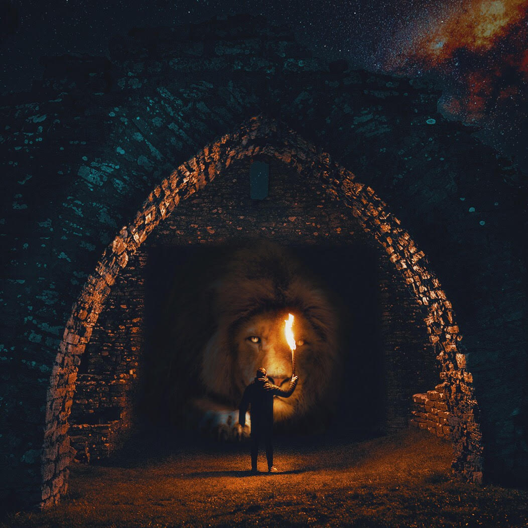 Giant Animals Surrealism Photography by Mani Photography