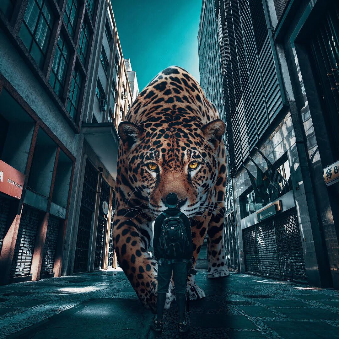 Surreal Photos Visualize a World Where Giant Animals Roam ...