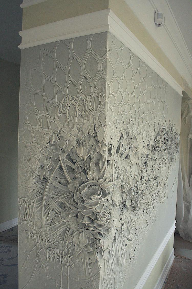 Intricate Bas Relief Sculpture Resembles Intricate