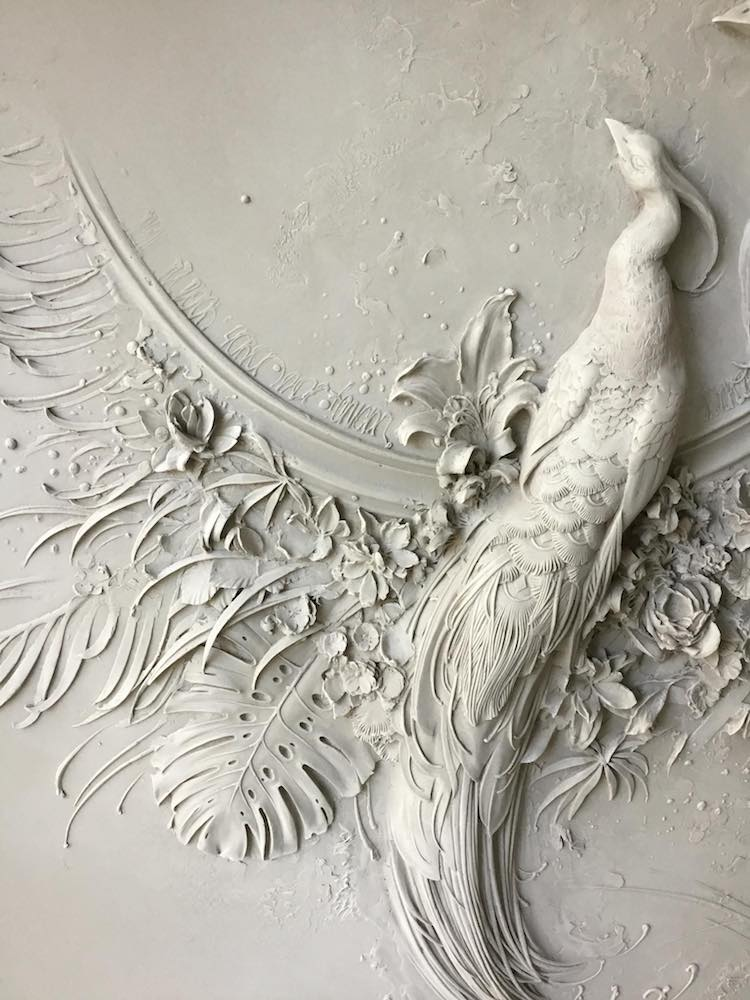High Relief Sculpture by Goga Tandashvili