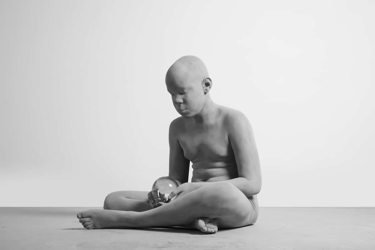 Polyester Sculpture by Hans Op de Beeck