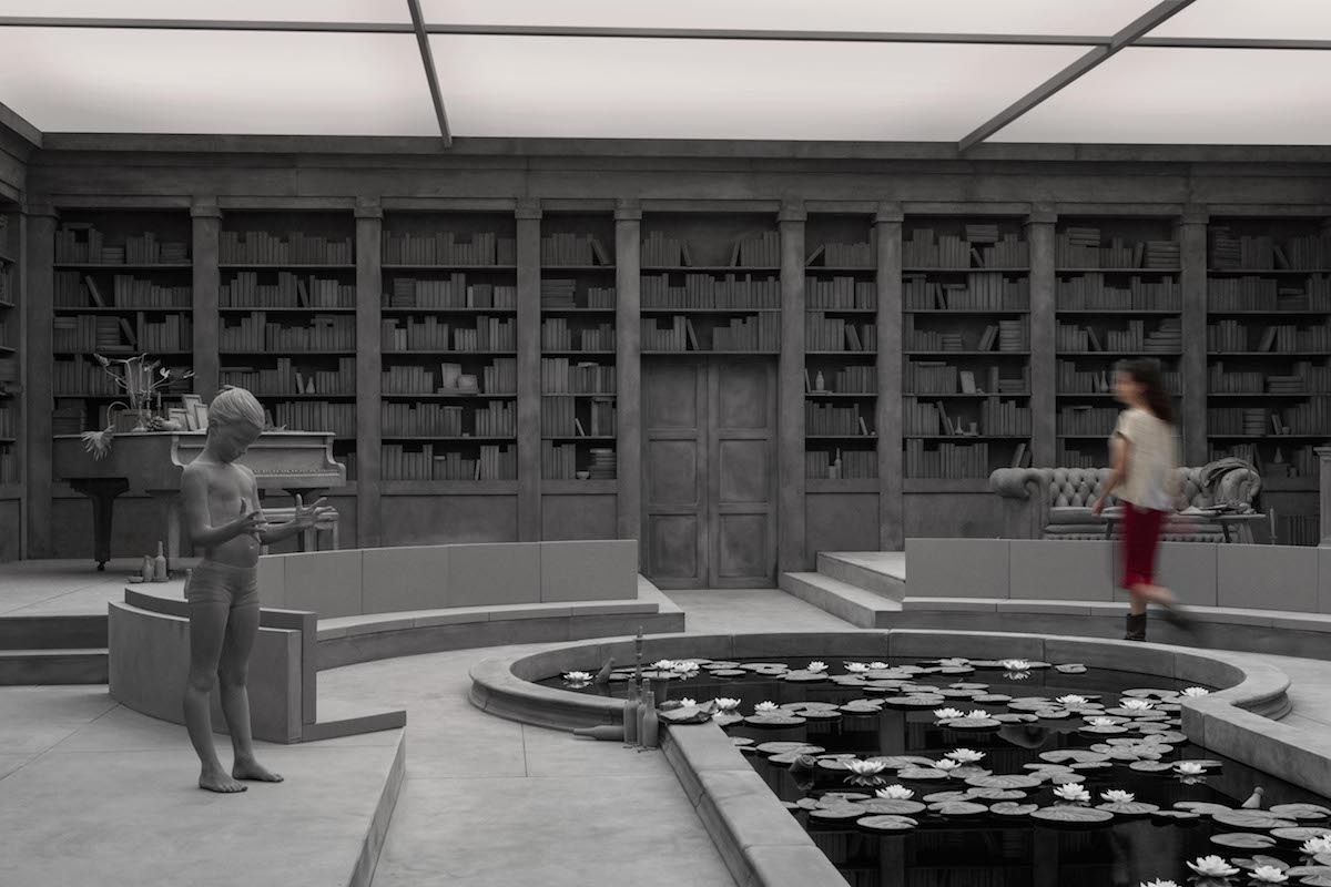The Collector's House Sculptural Installation by Hans Op de Beeck