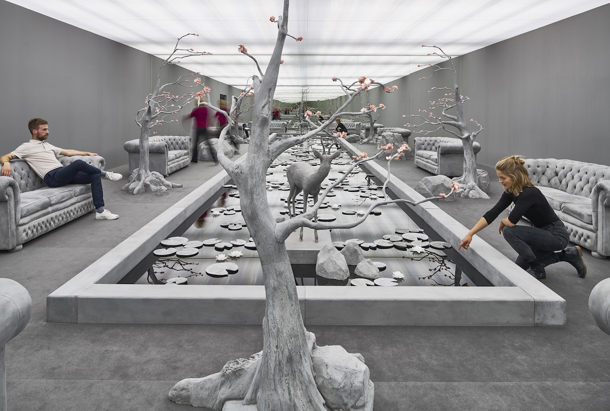 The Garden Room Sculptural Installation by Hans Op de Beeck