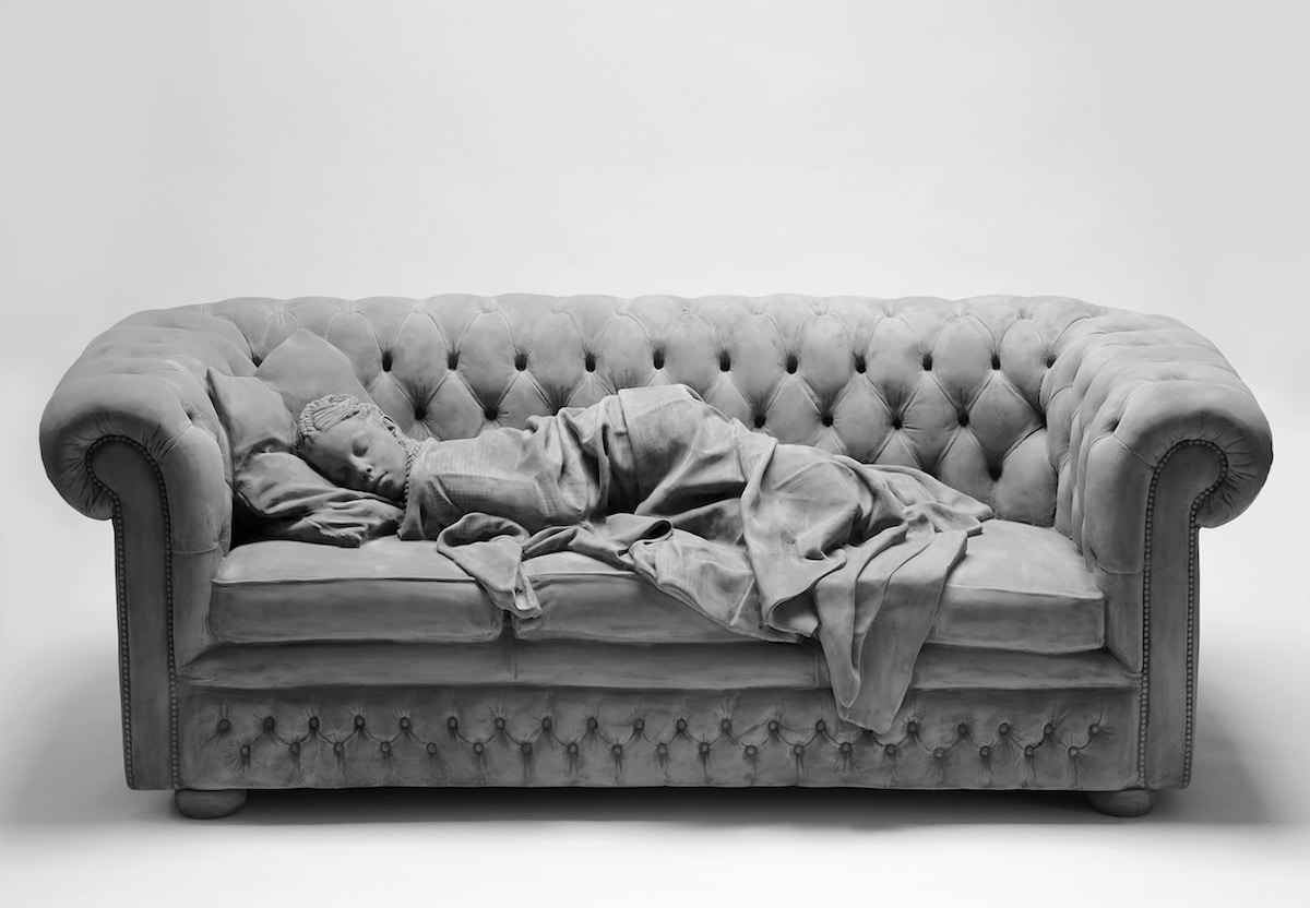 Sleeping Girl by Hans Op de Beeck