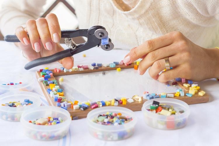 Cómo hacer un mosaico