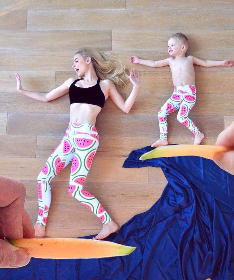 Creative Family Photos Matching Family Outfits Kate Weilz