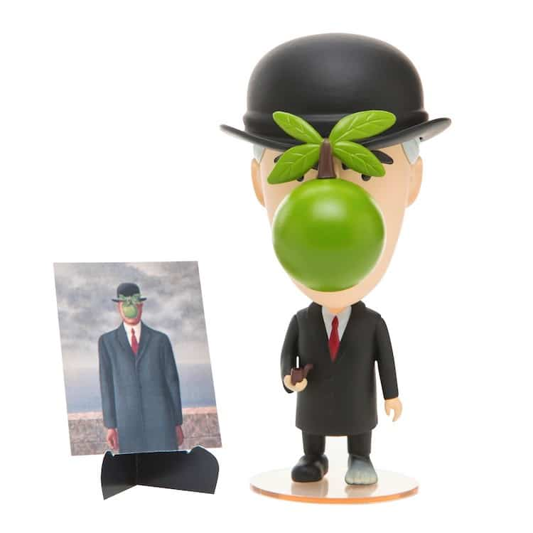 René Magritte Action Figure Showcases the Surrealist Artist's Playful Side