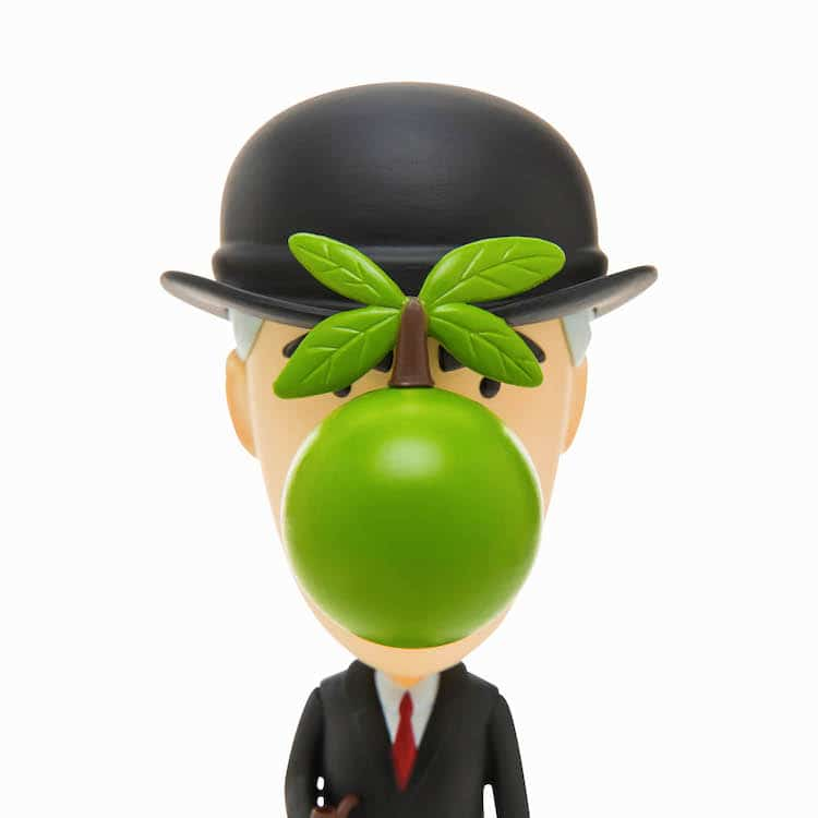 Rene Magritte Toy Rene Magritte Action Figure
