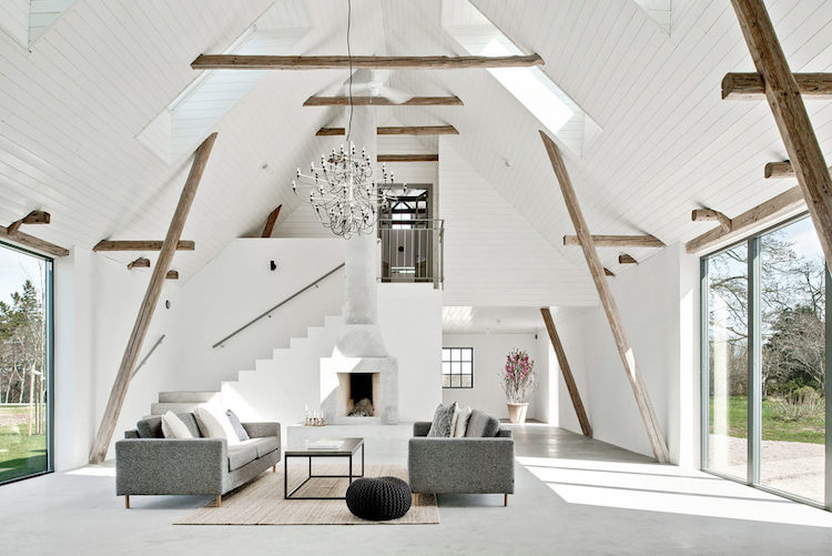 Minimalist Modern Interior Is A Stealthy Converted Barn Home