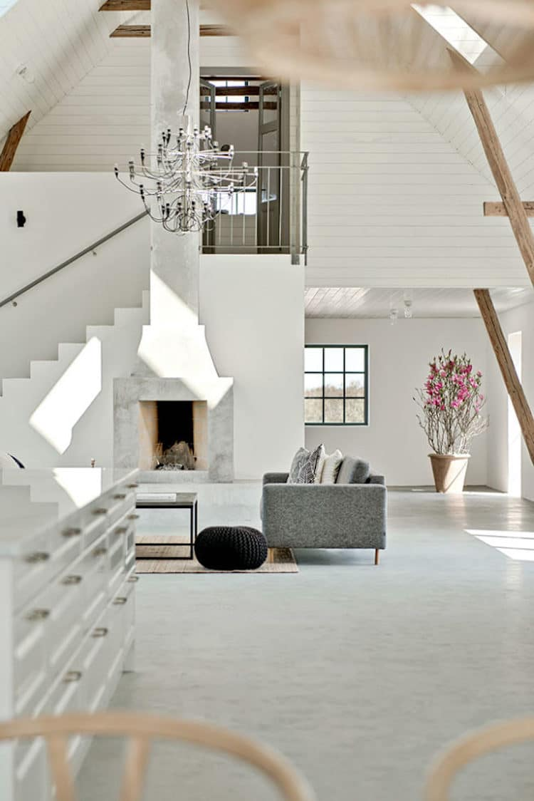 Converted Barn Home in Sweden