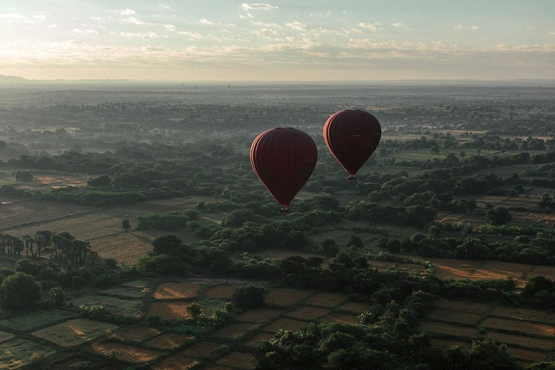 Myanmar Temples Aerial Photos Dimitar Karanikolov