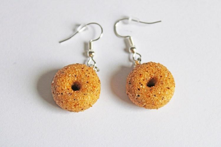 Bagel Earrings