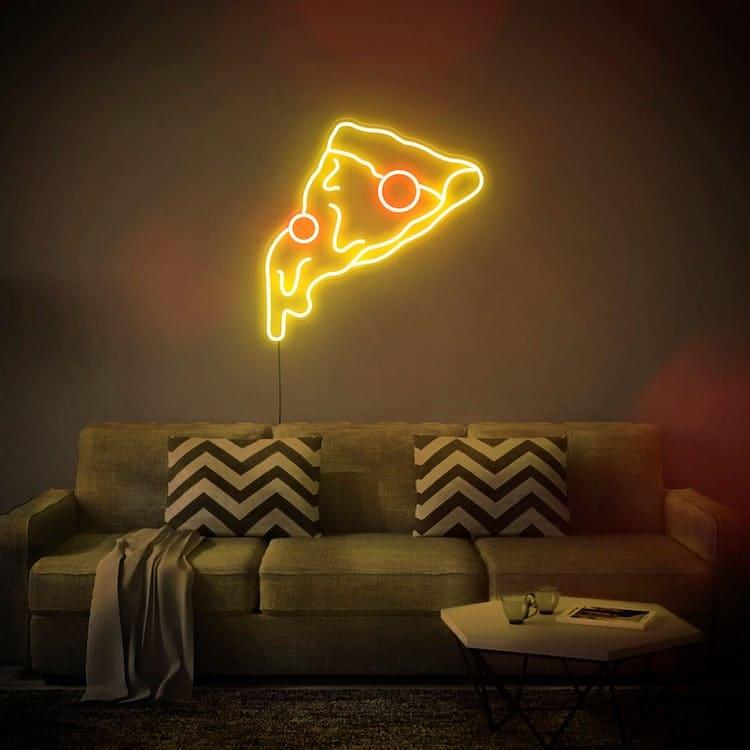 Pizza Slice LED Neon Sign