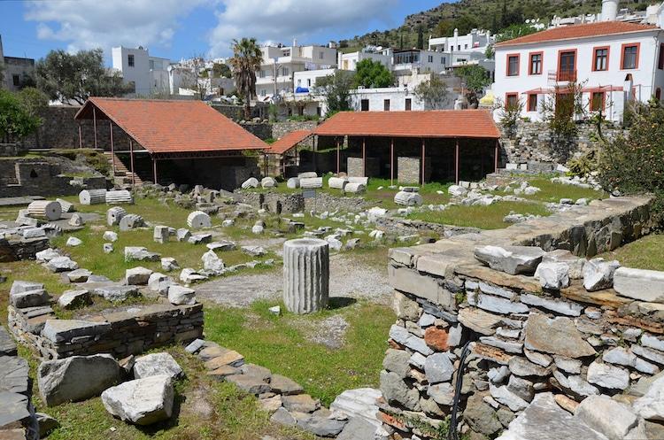Ruines d'Halicarnasse