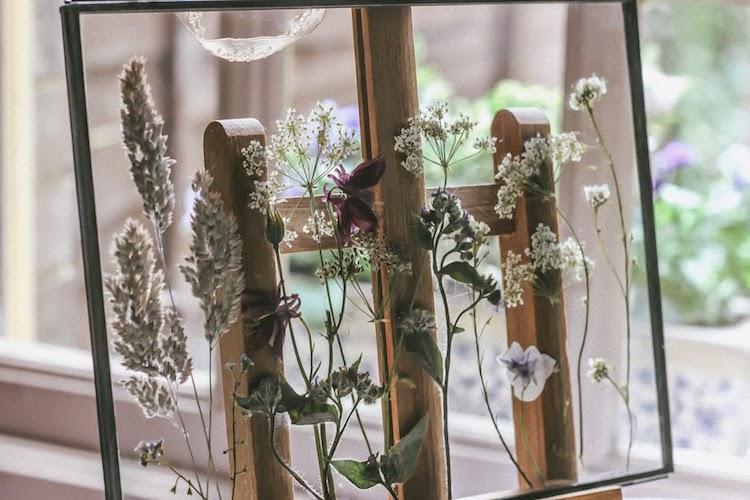 Dried Flowers Art DIY