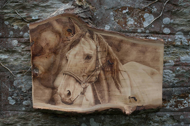 Artistic Pyrography