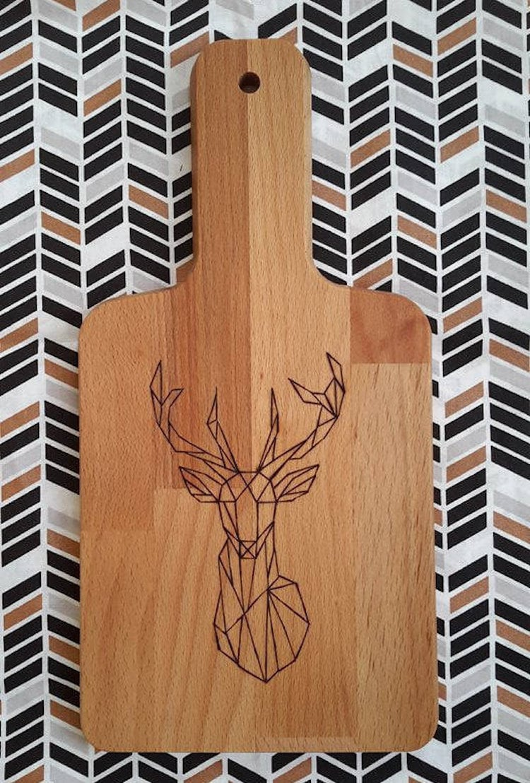 Pyrography Cutting Board