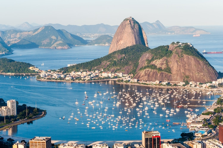 Seven Wonders of the Natural World Rio de Janeiro Harbor