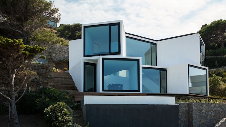 Sunflower House on the Costa Brava
