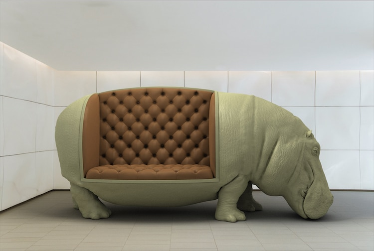 Animal Chairs by Máximo Riera Studio