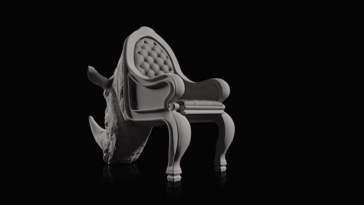 Animal Chairs by Máximo Riera Studio