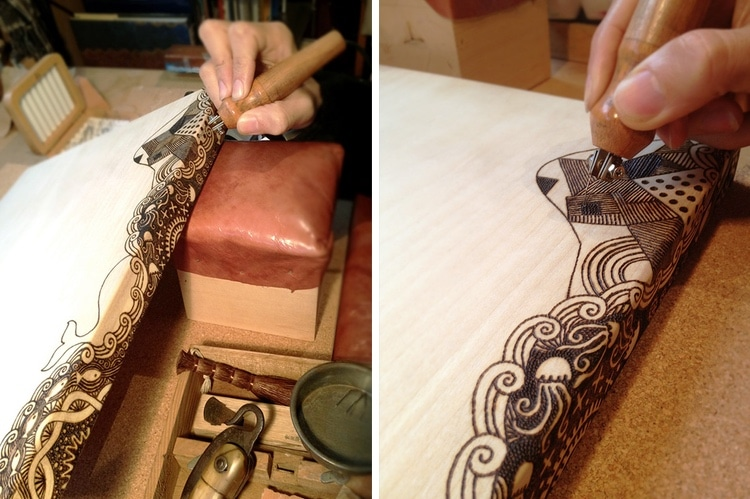 Pyrography Learning The Basics Of This Time Honored Craft
