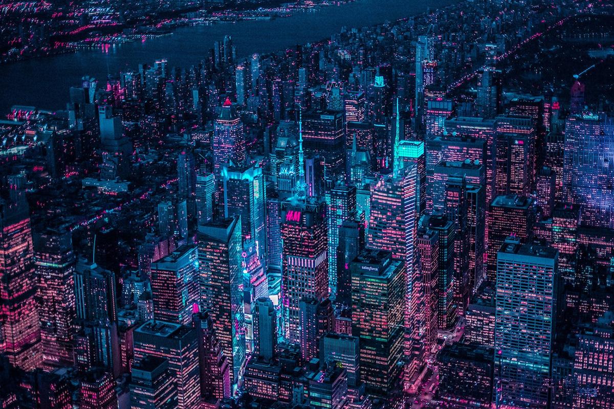 #NEWYORKGLOW II by Xavier Portela