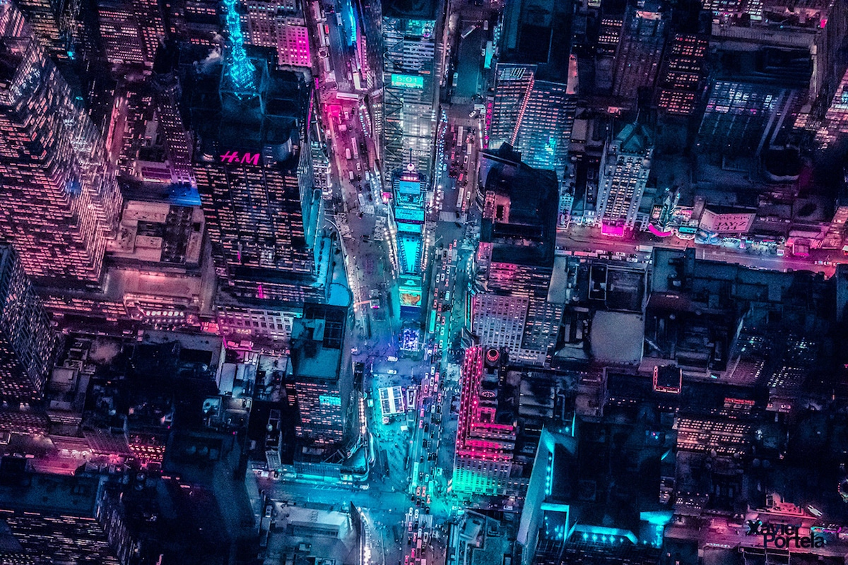 New York Aerial Photography by Xavier Portela