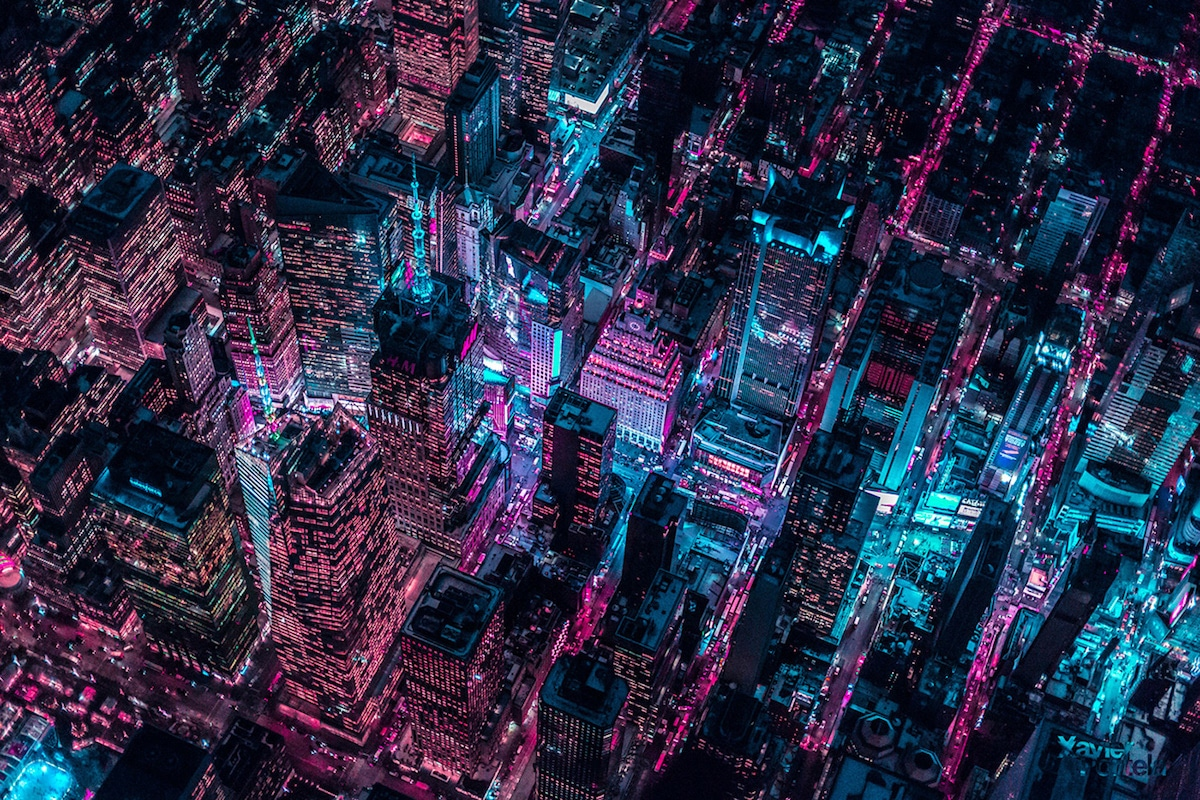 New York Cityscape by Xavier Portela