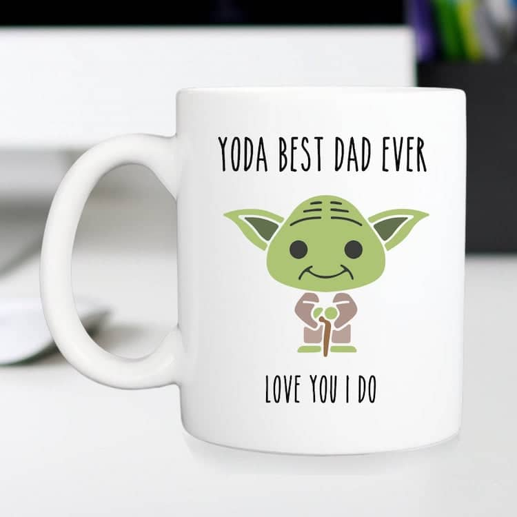 Yoga Mug for Father's Day
