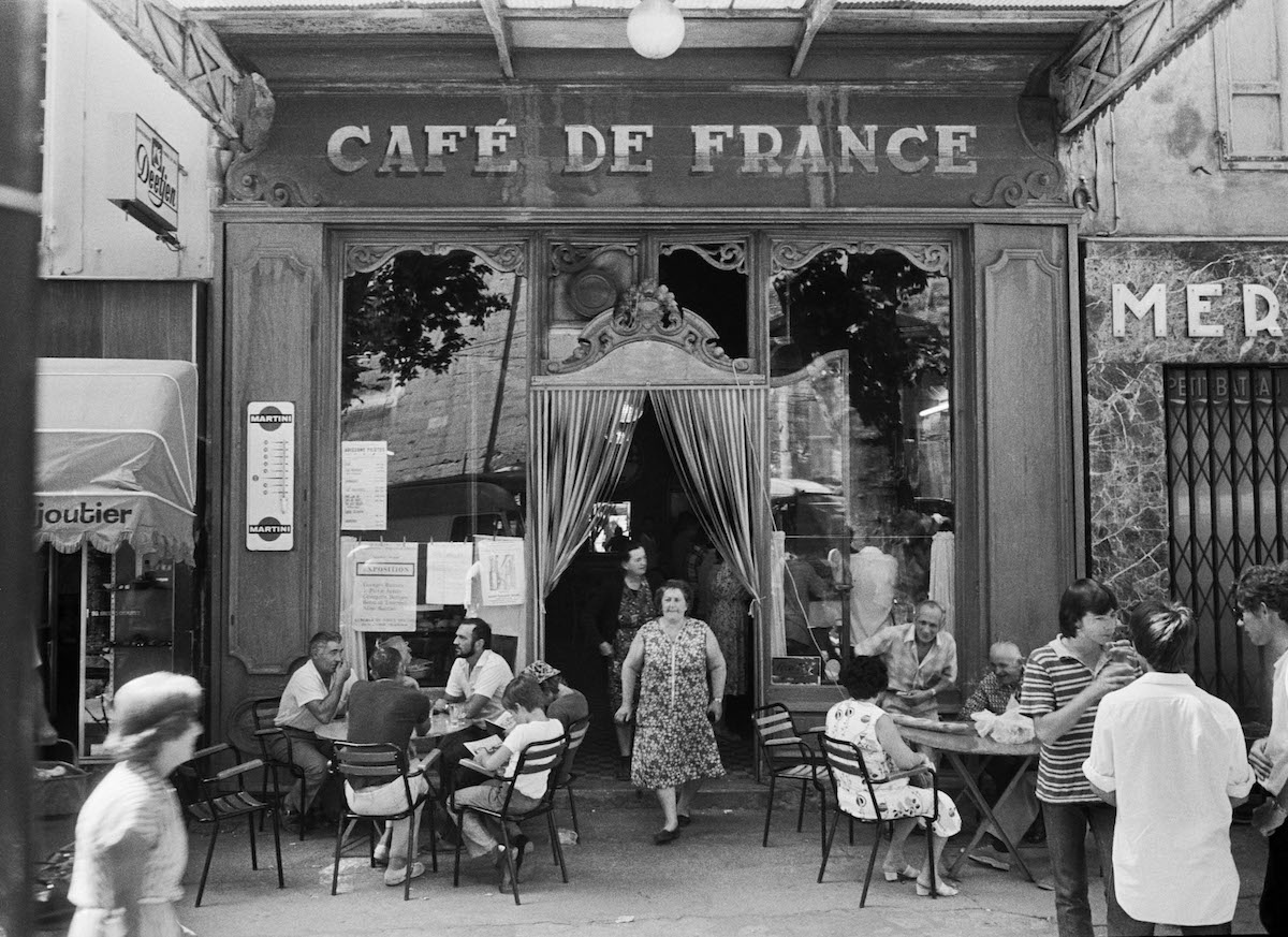 Image result for ww2 french cafe