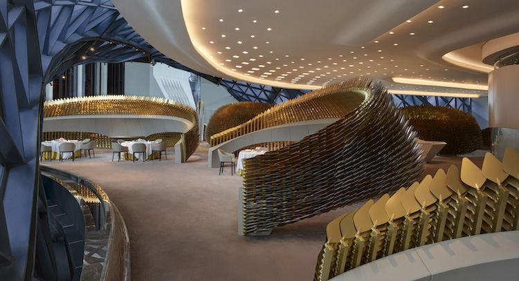 Hotel Architecture by Zaha Hadid Architects