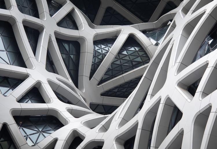 Zaha Hadid Architects - Morpheus Hotel Facade