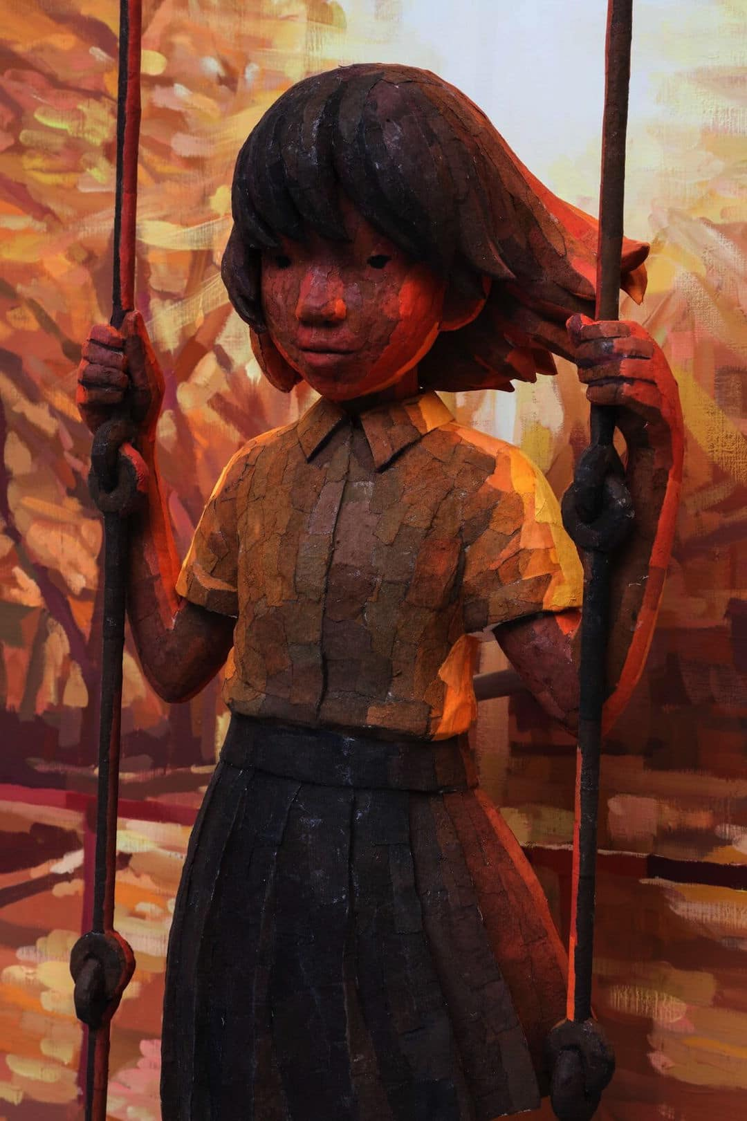 3D Sculpture Painting by Ohata Shintaro