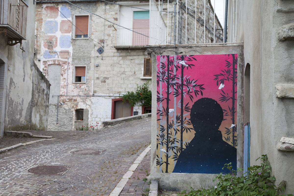 street art in Molise
