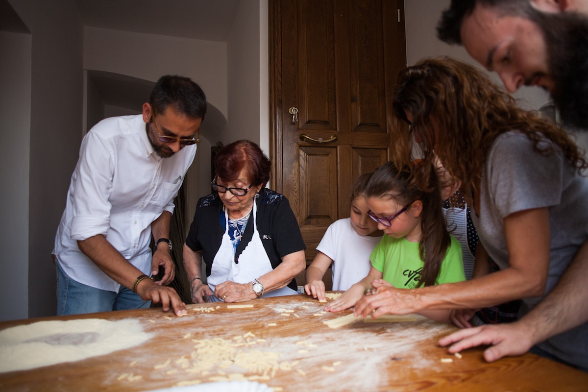 Pasta Making in Civitacampomarano
