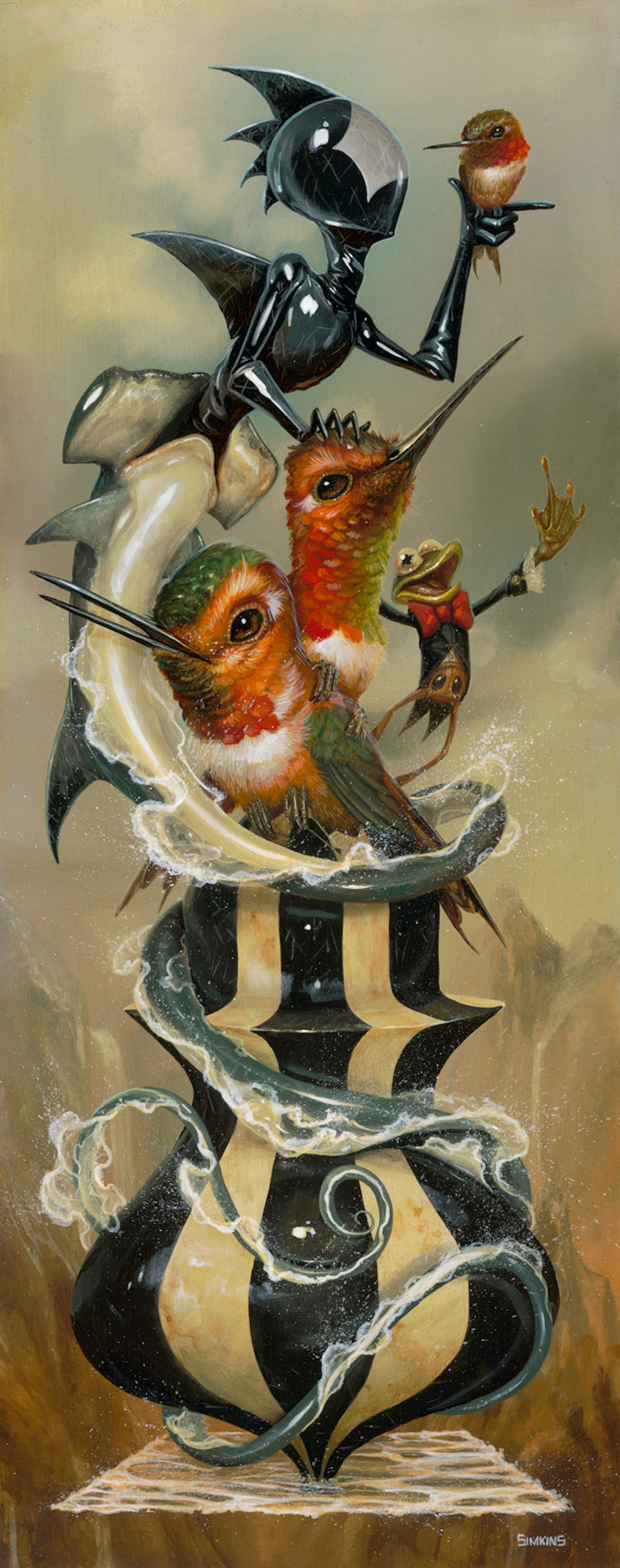 Greg 'Craola' Simkins - The Escape Artist