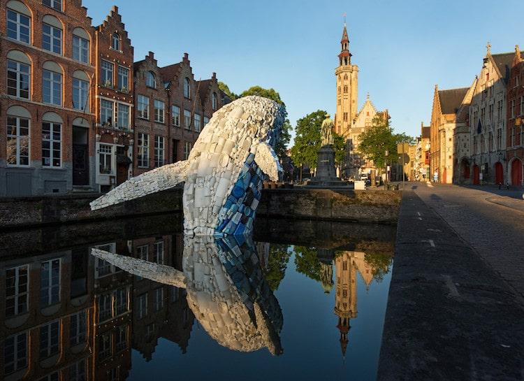 Ocean Plastic Sculpture