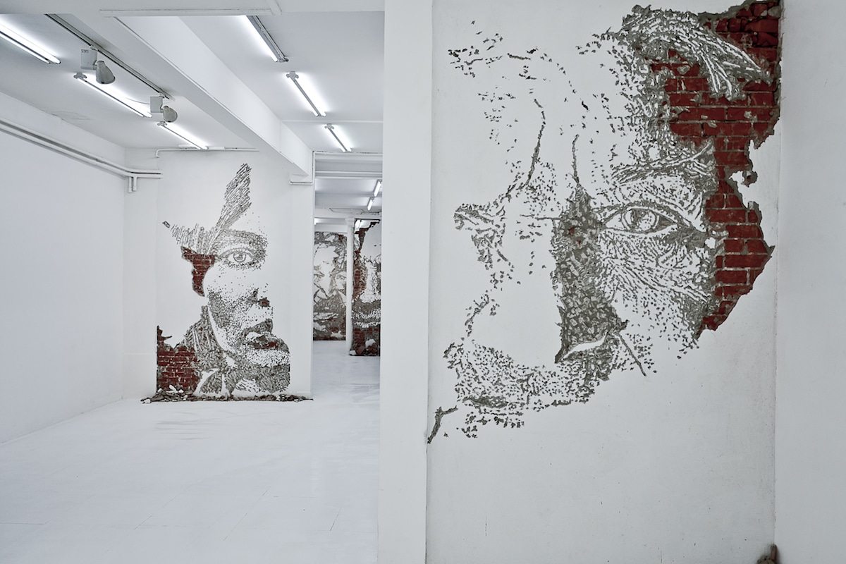 Vhils - Fragments Urbains